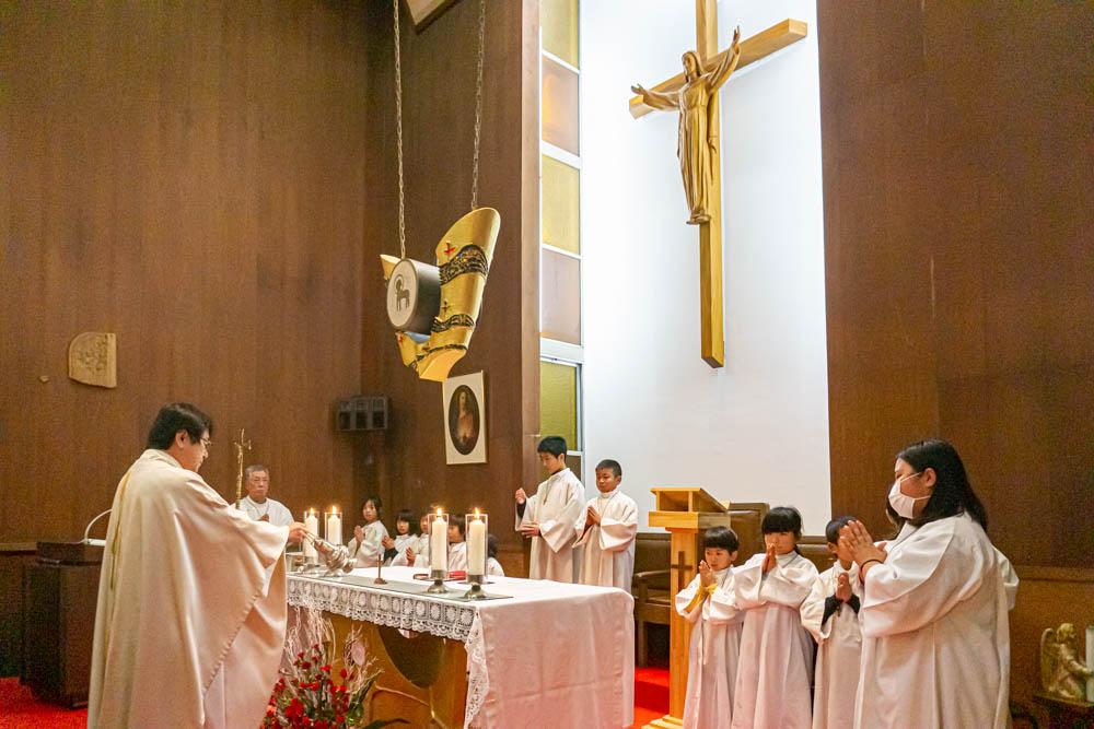 鳥栖カトリック教会 2019年クリスマスミサ中継 – 九州テレビ